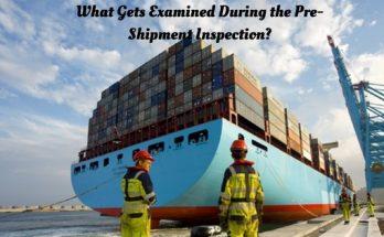 Pre-Shipment Inspection