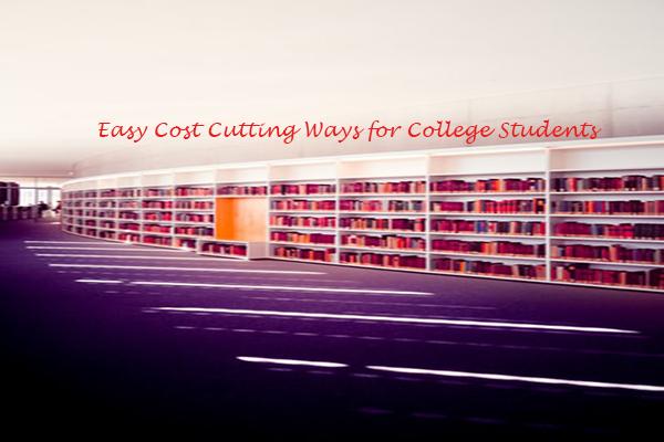 Cost Cutting Ways